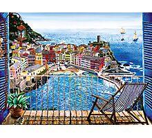 Vernazza - Italy Photographic Print