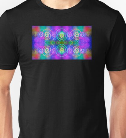 Saturn Circles Unisex T-Shirt