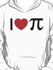 I Heart Pi - I Love Pi T-Shirt
