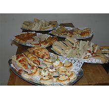 Food! Photographic Print