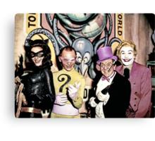 Batvillains Canvas Print