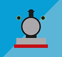 Thomas the Tank Engine - Minimalist Design by nelson92