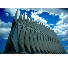 Air Force Academy Chapel Photographic Print
