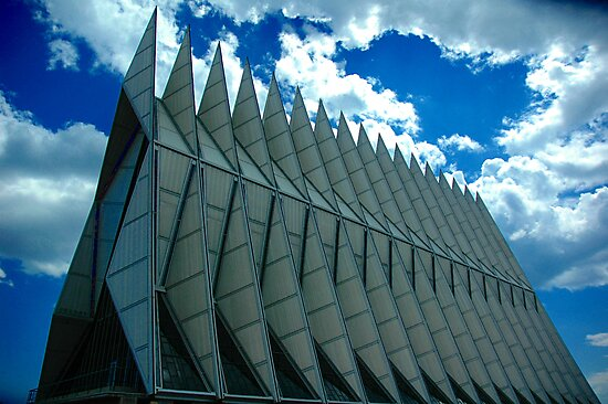 Air Force Academy Chapel by Holly Werner