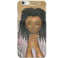 Praying Angel iPhone Case/Skin