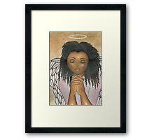 Praying Angel Framed Print