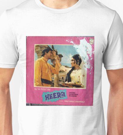 Heera, Bollywood OST LP Unisex T-Shirt