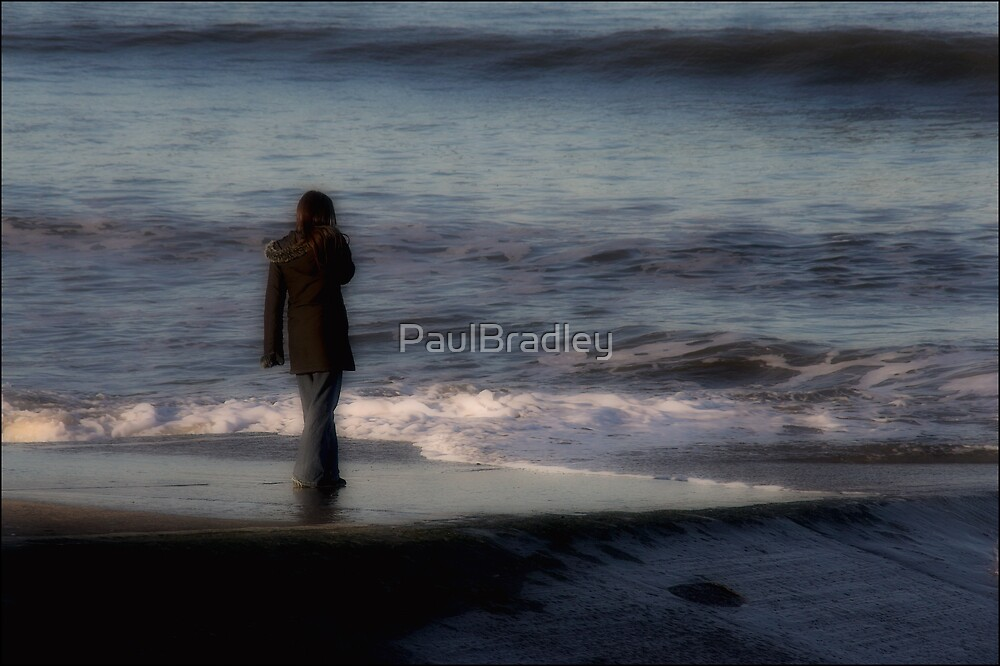 Watching the waves by PaulBradley