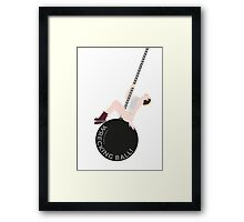 Miley Cyrus - Wrecking Ball Framed Print