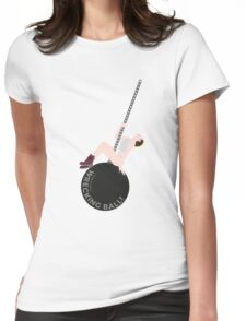 Miley Cyrus - Wrecking Ball Womens Fitted T-Shirt