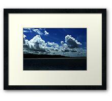 Portmeirion Sky Framed Print