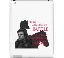 LOST THE WAR iPad Case/Skin