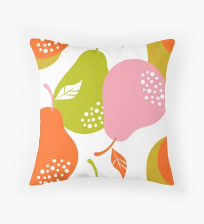 Pear Pair 3.3 Throw Pillow