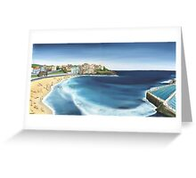Bondi Icebergs Greeting Card