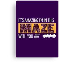 Holy Grail - Jay-Z - Purple Canvas Print