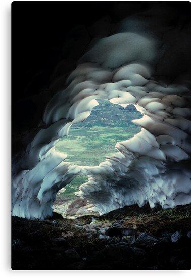 Snow Cave by Ern Mainka
