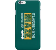 Holy Grail - Jay-Z - Turquoise iPhone Case/Skin
