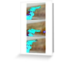 Catch The Bullet Greeting Card