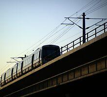 Dusk Train by FuzzyPoints