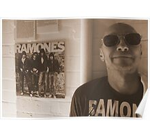 Arturo Vega aka the '5th RAMONES' Poster