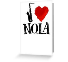 I Heart New Orleans (remix) by Tai's Tees Greeting Card