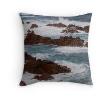 Woolami seas Throw Pillow