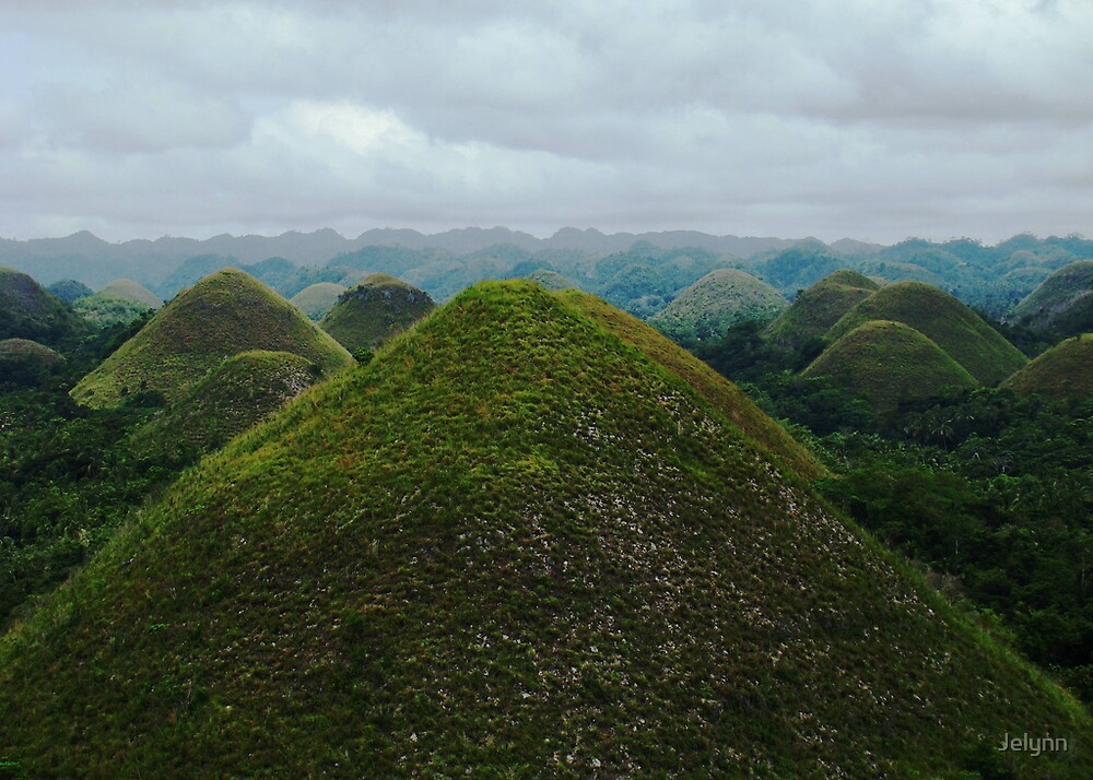 chocolate hills by Jelynn