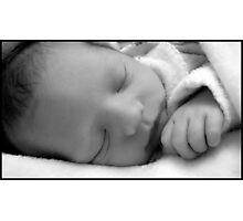New Born Sleeping  Photographic Print