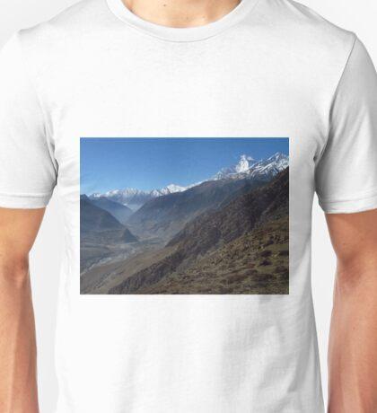 Kali Gandaki Valley, Nepal Unisex T-Shirt