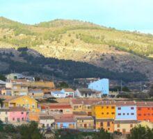 El Berro, Sierra Espuna, Murcia Sticker