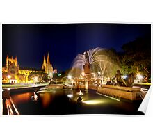 Archibald Fountain Poster