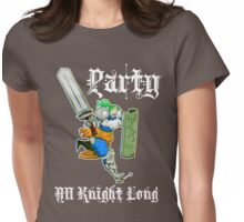 Party All Knight Long Womens Fitted T-Shirt