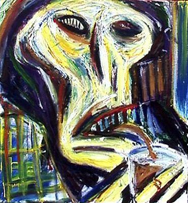 Skull Drinker by Adrian Symes
