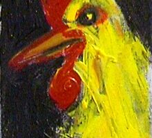 Angry Chicken by Adrian Symes