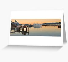Boat Harbour #2 Greeting Card