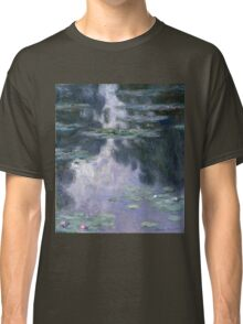 Claude Monet - Water Lilies (Nympheas) Classic T-Shirt
