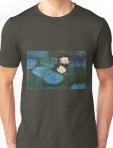 Claude Monet - Water Lilies 1899 Unisex T-Shirt