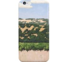Red Barn in Alexander Valley iPhone Case/Skin