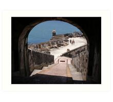 Fortifications Art Print