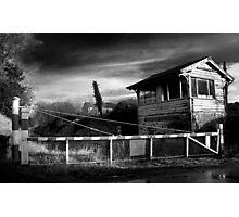 Abandoned Crossing & Signal Box, Co Westmeath, Ireland Photographic Print