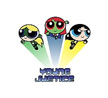 Young Justice: Spice, Sugar & Magic Photographic Print