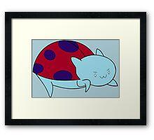 Catbug Framed Print