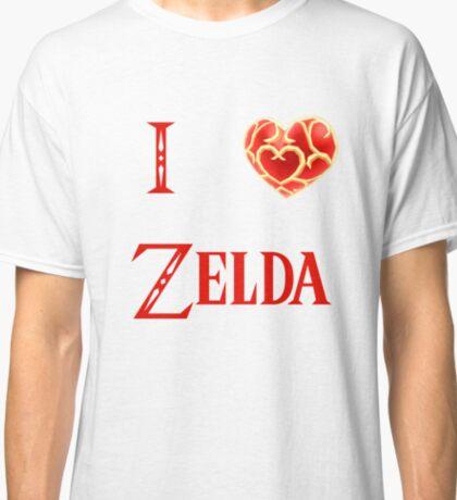 I Love Zelda ( skyword sword ) Classic T-Shirt