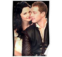 Once Upon a Time - Snow x Charming Poster