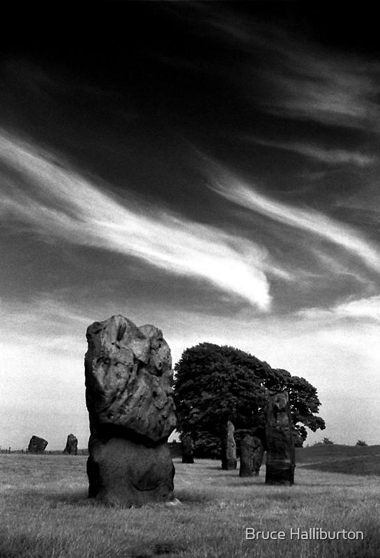 Avebury by Bruce Halliburton
