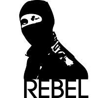 Rebel Photographic Print
