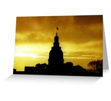 Capital of Maryland Greeting Card