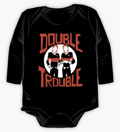 Official Phelps Twins - Double Trouble Tee One Piece - Long Sleeve