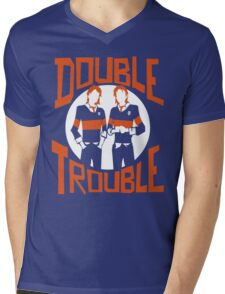 Official Phelps Twins - Double Trouble Tee Mens V-Neck T-Shirt