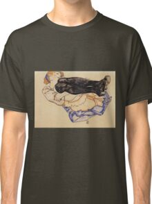 Egon Schiele - Woman With Blue Stockings 1912 Classic T-Shirt